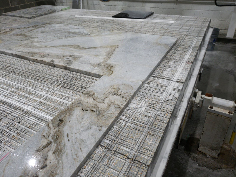 granite countertop production