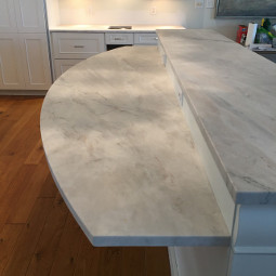 Quartzite kitchen countertop